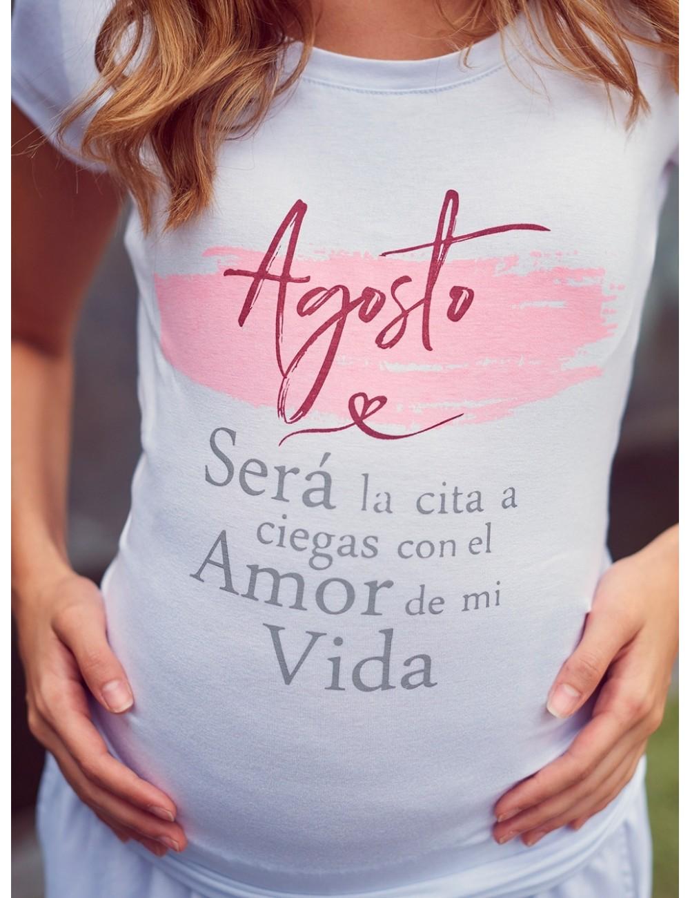 Camiseta Estampada El Amor de mi vida en meses