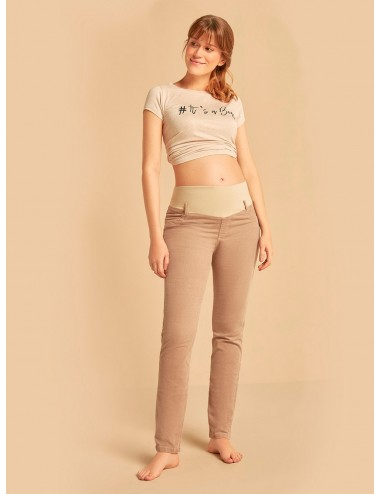 Pantalón en pana bota tubo