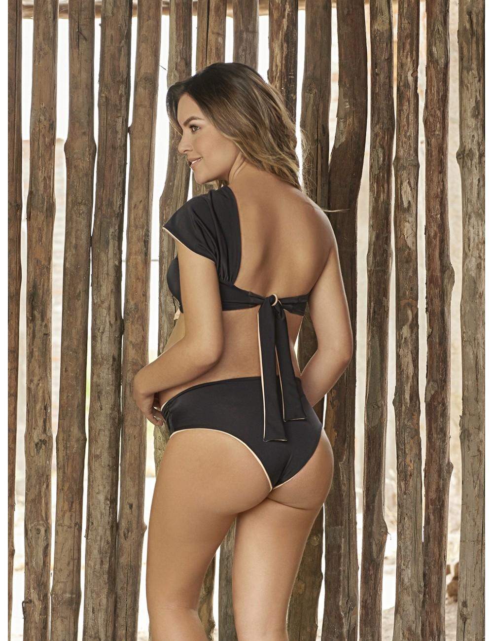Vestido de Baño 2 piezas panty alto