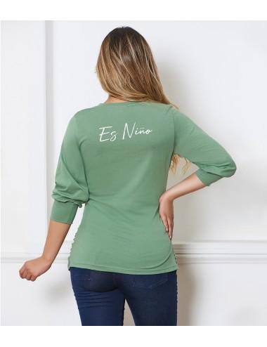 Camiseta Moda  Es Niño.