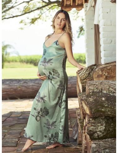 Vestido palmeras