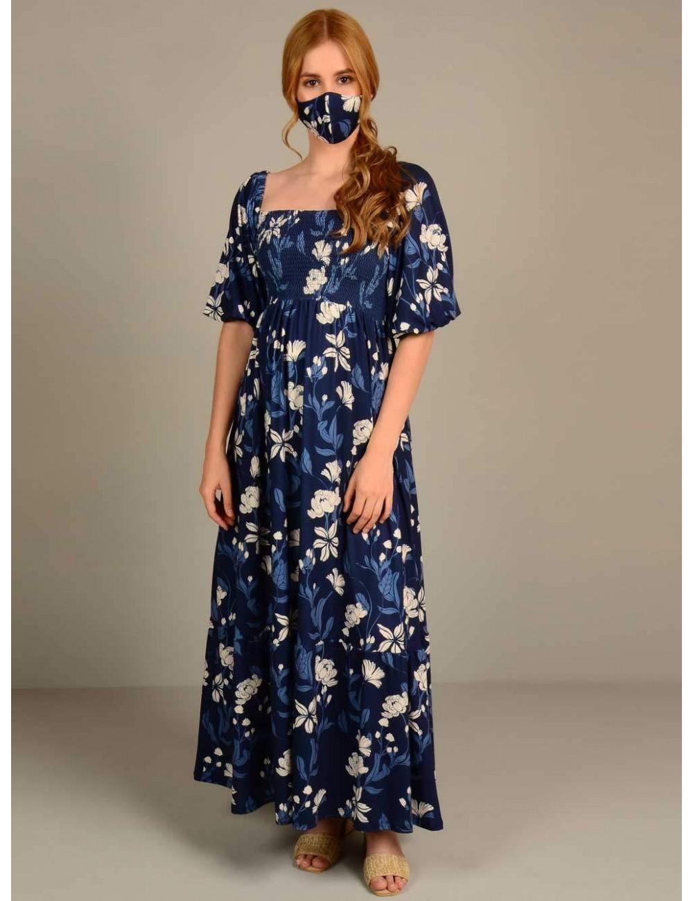 Vestido largo top multiresortes